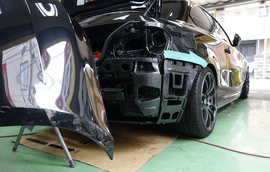 塗装が必要な傷修理