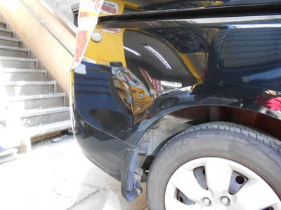 ホンダ・ステップワゴン リヤフェンダー板金塗装