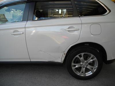 リヤフェンダー交換は事故車扱いに!ご注意下さい。