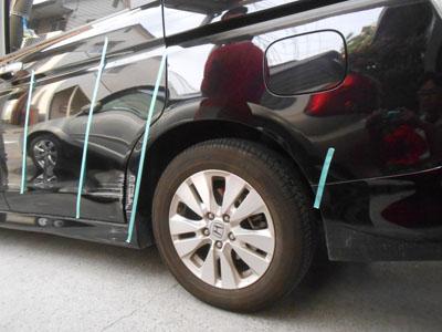ステップワゴン リヤフェンダー交換で事故車扱いに注意!