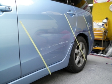 シャリオ・グランディスの保険修理