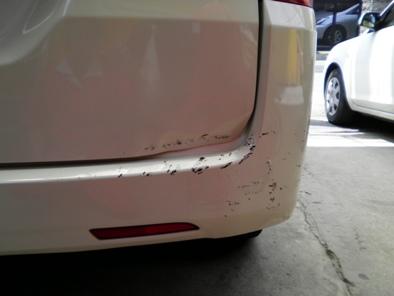 ステップワゴンの板金塗装