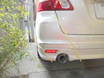 スバル・エクシーガ 保険修理は最良の方法で!