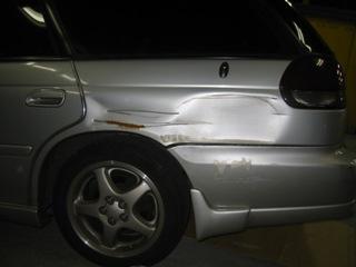 「車修理」こんな凹みも直っちゃいます。第一弾