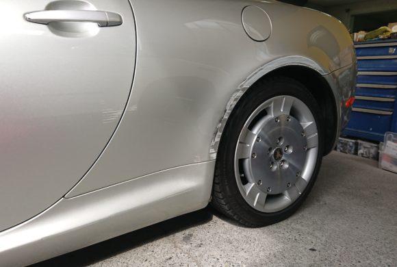 トヨタソアラ/広範囲のキズ凹み修理