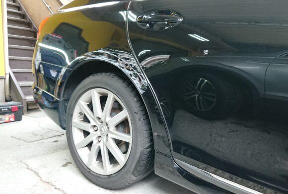 レクサスGS/積極的に板金修理でしっかり直します!