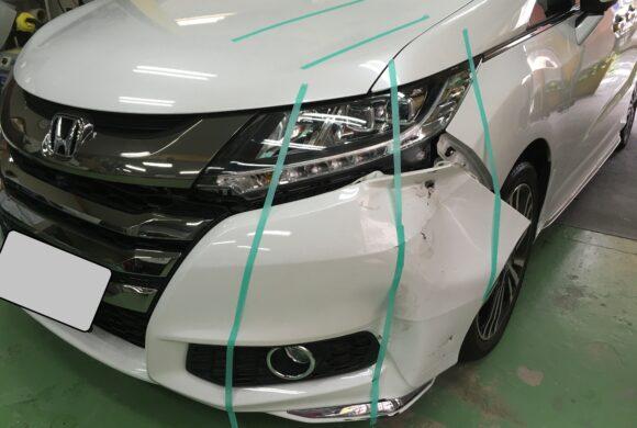 ホンダオデッセイ/車両保険でしっかりお得に修理